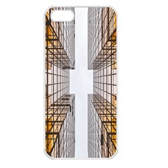 Architecture Facade Buildings Windows Apple Iphone 5 Seamless Case (white)