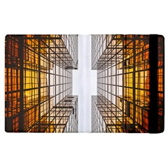 Architecture Facade Buildings Windows Apple Ipad 3/4 Flip Case