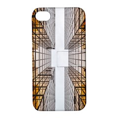 Architecture Facade Buildings Windows Apple Iphone 4/4s Hardshell Case With Stand