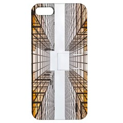 Architecture Facade Buildings Windows Apple Iphone 5 Hardshell Case With Stand