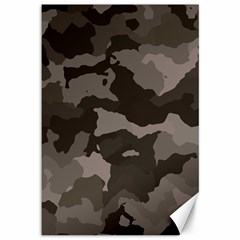 Background For Scrapbooking Or Other Camouflage Patterns Beige And Brown Canvas 12  X 18   by Nexatart