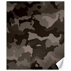 Background For Scrapbooking Or Other Camouflage Patterns Beige And Brown Canvas 20  X 24   by Nexatart