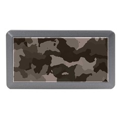 Background For Scrapbooking Or Other Camouflage Patterns Beige And Brown Memory Card Reader (mini)