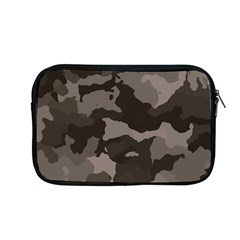 Background For Scrapbooking Or Other Camouflage Patterns Beige And Brown Apple Macbook Pro 13  Zipper Case