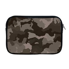 Background For Scrapbooking Or Other Camouflage Patterns Beige And Brown Apple Macbook Pro 17  Zipper Case