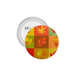 Autumn Leaves Colorful Fall Foliage 1 75  Buttons