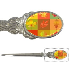 Autumn Leaves Colorful Fall Foliage Letter Openers