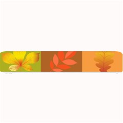 Autumn Leaves Colorful Fall Foliage Small Bar Mats by Nexatart