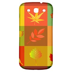 Autumn Leaves Colorful Fall Foliage Samsung Galaxy S3 S Iii Classic Hardshell Back Case by Nexatart