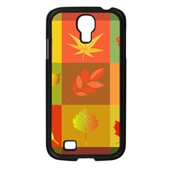 Autumn Leaves Colorful Fall Foliage Samsung Galaxy S4 I9500/ I9505 Case (black) by Nexatart