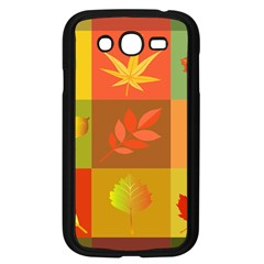 Autumn Leaves Colorful Fall Foliage Samsung Galaxy Grand Duos I9082 Case (black) by Nexatart