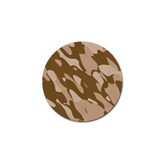 Background For Scrapbooking Or Other Beige And Brown Camouflage Patterns Golf Ball Marker (10 Pack)