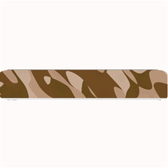 Background For Scrapbooking Or Other Beige And Brown Camouflage Patterns Small Bar Mats