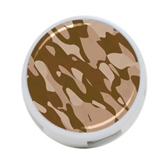 Background For Scrapbooking Or Other Beige And Brown Camouflage Patterns 4 Port Usb Hub (one Side)