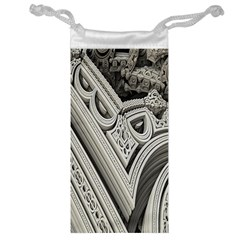 Arches Fractal Chaos Church Arch Jewelry Bag by Nexatart