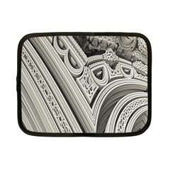 Arches Fractal Chaos Church Arch Netbook Case (small)  by Nexatart