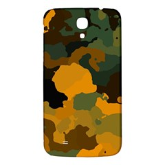 Background For Scrapbooking Or Other Camouflage Patterns Orange And Green Samsung Galaxy Mega I9200 Hardshell Back Case by Nexatart