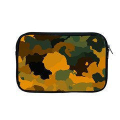 Background For Scrapbooking Or Other Camouflage Patterns Orange And Green Apple Macbook Pro 13  Zipper Case by Nexatart