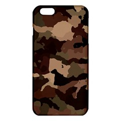 Background For Scrapbooking Or Other Camouflage Patterns Beige And Brown Iphone 6 Plus/6s Plus Tpu Case by Nexatart