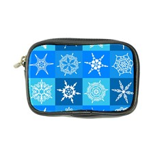 Background Blue Decoration Coin Purse