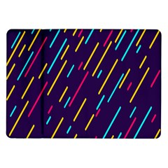 Background Lines Forms Samsung Galaxy Tab 10 1  P7500 Flip Case