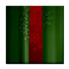 Background Christmas Tile Coasters