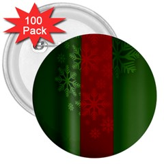 Background Christmas 3  Buttons (100 Pack)  by Nexatart