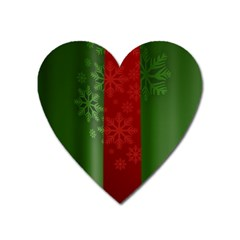 Background Christmas Heart Magnet by Nexatart