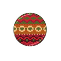 Background Plot Fashion Hat Clip Ball Marker by Nexatart