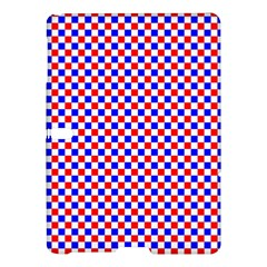 Blue Red Checkered Samsung Galaxy Tab S (10 5 ) Hardshell Case  by Nexatart