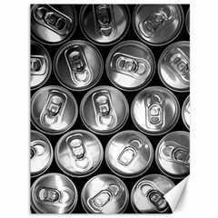 Black And White Doses Cans Fuzzy Drinks Canvas 36  X 48   by Nexatart