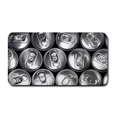 Black And White Doses Cans Fuzzy Drinks Medium Bar Mats by Nexatart