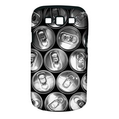 Black And White Doses Cans Fuzzy Drinks Samsung Galaxy S Iii Classic Hardshell Case (pc+silicone) by Nexatart