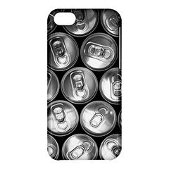 Black And White Doses Cans Fuzzy Drinks Apple Iphone 5c Hardshell Case by Nexatart