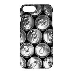 Black And White Doses Cans Fuzzy Drinks Apple Iphone 7 Plus Hardshell Case by Nexatart