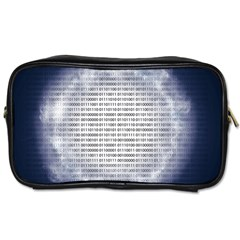 Binary Computer Technology Code Toiletries Bags 2 Side by Nexatart