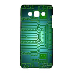 Board Conductors Circuits Samsung Galaxy A5 Hardshell Case  by Nexatart
