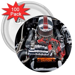 Car Engine 3  Buttons (100 Pack)  by Nexatart