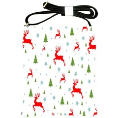 Christmas Pattern Shoulder Sling Bags by Nexatart