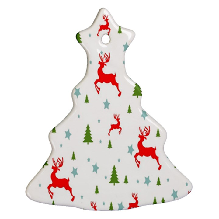 Christmas Pattern Christmas Tree Ornament (Two Sides)