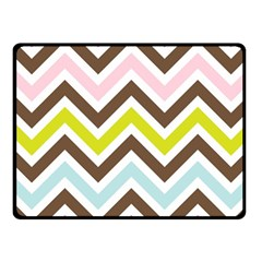 Chevrons Stripes Colors Background Fleece Blanket (small)