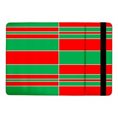 Christmas Colors Red Green Samsung Galaxy Tab Pro 10 1  Flip Case by Nexatart