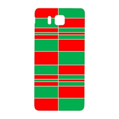 Christmas Colors Red Green Samsung Galaxy Alpha Hardshell Back Case by Nexatart