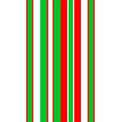 Christmas Holiday Stripes Red Green,white 5 5  X 8 5  Notebooks by Nexatart