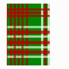 Christmas Colors Red Green White Small Garden Flag (two Sides)