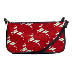 Christmas Card Christmas Card Shoulder Clutch Bags