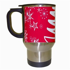 Christmas Tree Travel Mugs (white)