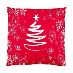 Christmas Tree Standard Cushion Case (two Sides)