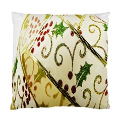 Christmas Ribbon Background Standard Cushion Case (one Side)
