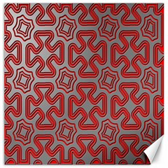 Christmas Wrap Pattern Canvas 20  X 20   by Nexatart